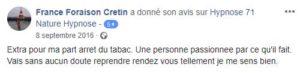 Témoignage France Foraison Cretin