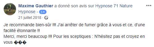 Témoignage Maxime Gauthier