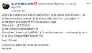 Témoignage isabelle Beaucaire